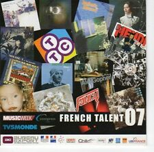 (EA744) French Talent 07, 17 tracks various artists - 2007 Music Week CD