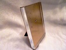 M-C-M ART DECO Easel PICTURE FRAME Brass & Lucite KARL SPRINGER Attributed