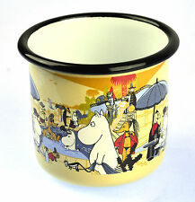 Moomin Swimming Pool - Moomin Muurla Enamel Mug - 3.7 cl