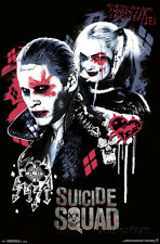 Suicide Squad Twisted Love Movie Poster 22x34 Joker Harley Quinn DC Comics