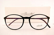 New Silhouette Eyeglass Frames SPX ILLUSION 2889 6050 Black Women Men SZ 51