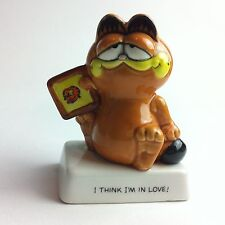VINTAGE GARFIELD Figure ornament, collectable 1981/ Enesco / Downpace, Retro