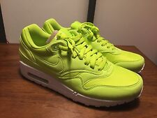 NEW Nike Air Max 1 One Sneaker Green Tennis Ball NIB DS 9M Supreme 308866-331