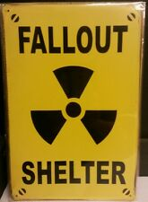 Fallout Shelter Vintage Retro Metal Sign Plaque Home Decor Room Pub Workshop