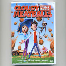 Cloudy with a Chance of Meatballs PG animated comedy movie, used DVD Bill Hader