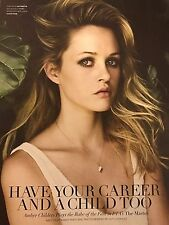 Ambyr Childers 4pg FLAUNT magazine feature, clippings