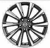 "Nissan Qashqai (2014 >) 19"" Dark Grey Set of 4 Alloy wheels KE4094E400DS"