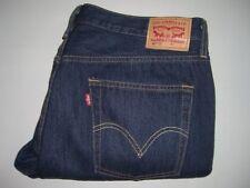 Mens LEVI'S STRAUSS & CO. 501 CT Dark Blue Denim Jeans W36 L28 Custom Tapered