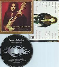 YNGWIE J. MALMSTEEN-BEST OF ' 90-' 99-USA-SPITFIRE RECORDS SPT 215141-CD-NEW-