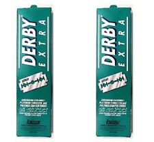 Derby Extra Double Edge Blades Safety Razor Blades For Wet Shaving X200 Pack