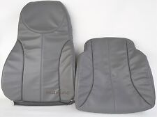 INTERNATIONAL AIR RIDE SEAT COVER- DRIVER BACKREST AND BOTTOM COMBO-GRAY