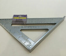 """6"""" Heavy Duty Aluminium Speed Square Measuring Tool Roofing Triangle Joinery"""