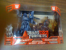 Transformers Movie 1 Blackout Scorponok Desert Attack  NEW FREE SHIP US