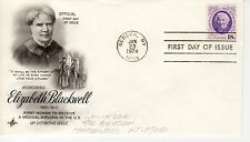 FDC - Elizabeth Blackwell - Geneva - Jan 23th - 1974 - Premier jour