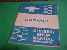 CHEVROLET 1967 CORVAIR CHASSIS SHOP MANUAL SUPPLEMENT ST 132-67