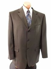 JONES NEW YORK MENS OLIVE WOOL SUIT JACKET SPORT COAT SIZE 44R