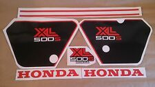 Autocollants / Stickers / Decals Honda XL500S - XLS 500