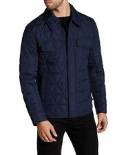 Marc New York By Andrew Marc Medford Elegant Workwear, Quilted Shirt Jacket  XL