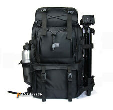 "40L Waterproof DSLR SLR Camera Backpack Rucksack 17"" Laptop Bag Shoulder Bag New"
