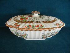 Copeland Spode Indian India Tree Old Mark Pattern 2/916 Covered Bowl with Lid