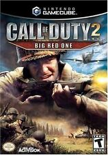Call Of Duty 2 Big Red One Nintendo Gamecube Game Complete