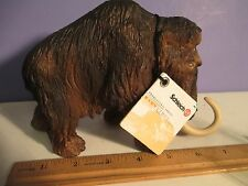 """2002 Schleich WOOLLY MAMMOTH with Tag 4 1/2"""" tall - Germany"""