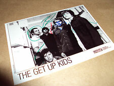 THE GET UP KIDS - FULLY SIGNED - BAND PROMO PHOTO - FREE UK POSTAGE - RARE