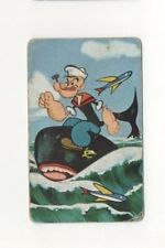 Playing Swap Cards 1 Japanese  Nintendo 1960's Popey 3/4 Size J200