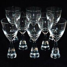 """SET OF 8 HOLMEGAARD HOLME GAARD PRINCESS GLASSES  H5"""" RETRO VINTAGE SCANDINAVIAN"""
