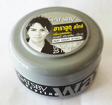 GATSBY Wax Mat + Hard Gel Hair Shine free Japan Series For Men Styling 25 g size