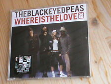The Black Eyed Peas-Where is the love? * 3 Track MCD + Video * a & M Rec. 2003