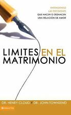 Límites para el Matrimonio by Henry Cloud and John Townsend (2009, Paperback)