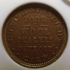 1861-65 JD & CB Standish's CWT. MS 62 Brown Slabbed by NGC