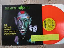 MEMENTO MORI - The Cultural Value Of Fear, Distrust & Hypochondria  RED Vinyl LP