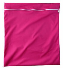 WET BAG FOR CLOTH NAPPY/DIAPER Bright Pink