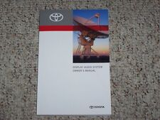 2012 Toyota Tacoma Display Audio Navigation System Owner User Manual Guide Book
