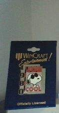 """Peanuts Snoopy """"Joe Cool """"Pin By Wincraft  New On Card"""