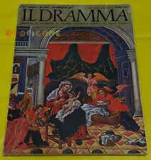 IL DRAMMA 1961 n. 303 - Copertina Teodoro Pulachi - Opere: vedi inserzione