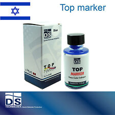 Dental Lab Top Die Marker Occlusion Stone Plaster Preparations 1/2oz 15ml Blue