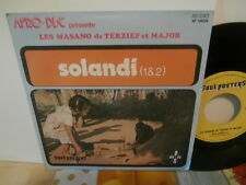 "les masano de terzief et major""solandi""single7""or.fr.soul/pos:ad043 rare afro"