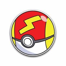 FAST Poke Ball Pokemon Go Decal Sticker Vinyl Car Macbook Waterproof Outdoor