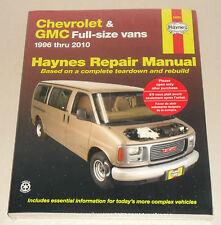 Reparaturanleitung Chevrolet Van Express + GMC Savana, Baujahre 1996 - 2010