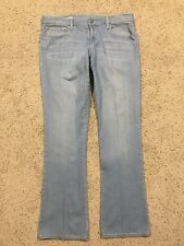 "GAP 1969 ""SKINNY BOOT""  LIGHT WASH JEANS size 32/14 (Inseam 33)  denim A7"
