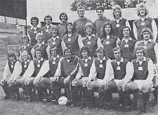 PLYMOUTH ARGYLE FOOTBALL TEAM PHOTO 1973-74 SEASON