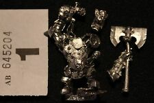 Games Workshop Warhammer Fantasy Grimgor Ironhide Black Orcs Warboss Metal OOP A