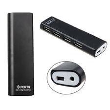 4 Ports Haut Débit USB 2.0/USB 1.1 Hub+Adaptateur Secteur pour PC portable