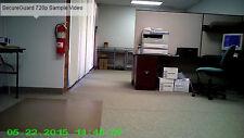 SecureGuard 720p HD WiFi Wireless IP Wall Clock Mini Nanny Hidden Spy Camera