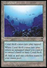 2x Atollo Corallino - Coral Atoll MTG MAGIC Vi Visions Eng
