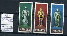 Malta 1977 antiche armature 537-39    MNH