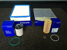 GENUINE VOLVO D5 DIESEL SERVICE KIT OIL AIR FUEL CABIN FILTER - V70 S60 XC90 S80